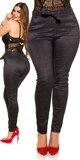 Moletkovské nohavice s podšívkou Antracitová