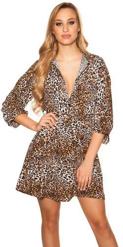 Šaty so zvieracími vzormi | Leopard