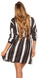Blúzkové šaty Čierno-biela