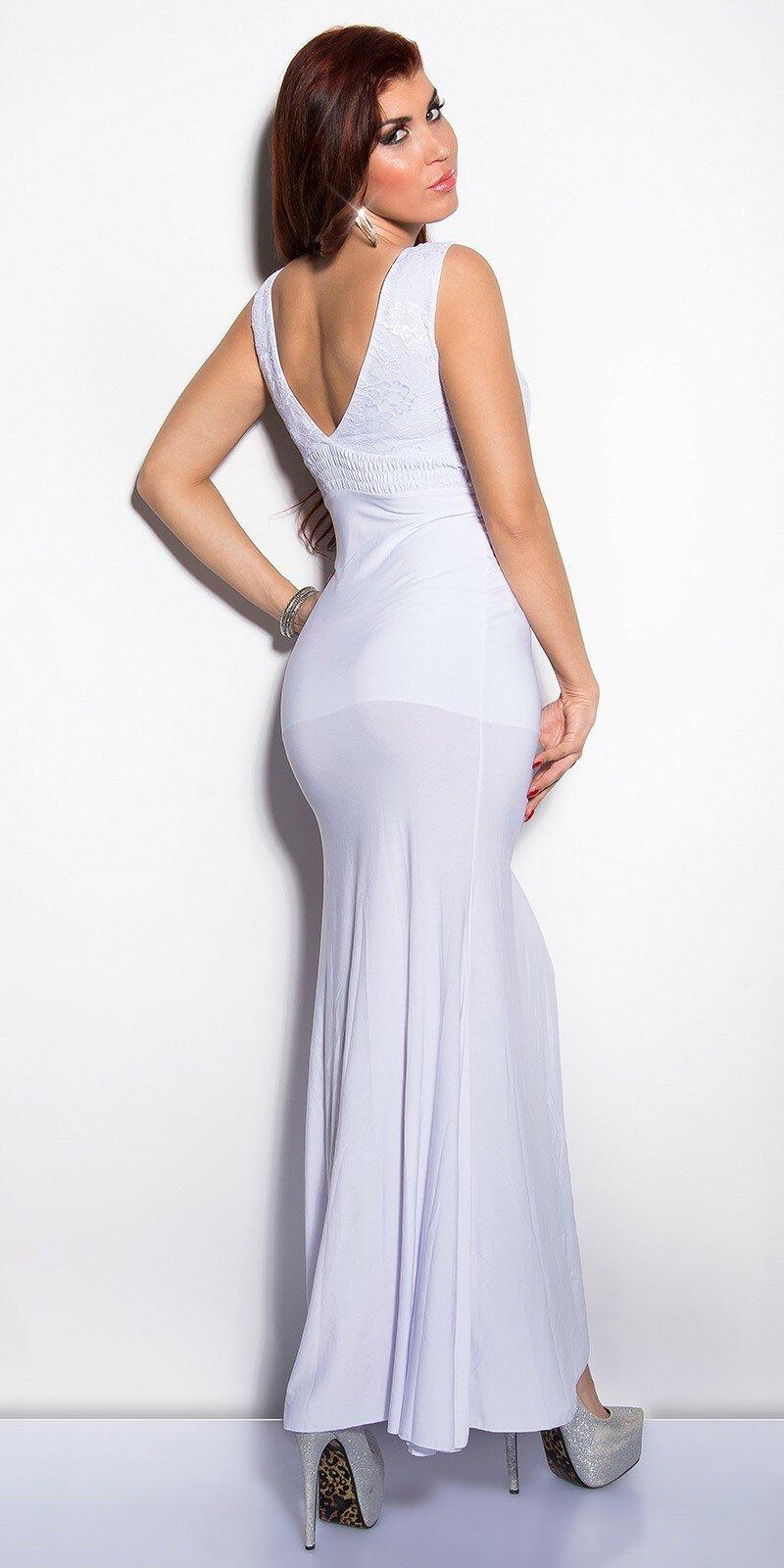 Elegantné maxi šaty zdobené veľkými kamienkami - NajlepsiaModa.sk d0b05ec4567