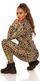Leopardí športový set Zlatá