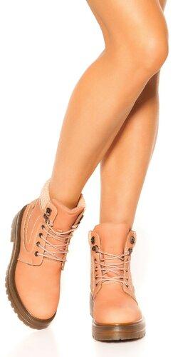 Členkové topánky | Bledá ružová
