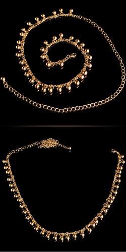 Opasok s guličkami | Zlatá