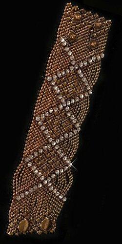 Luxusný náramok s Xkami | Zlatá