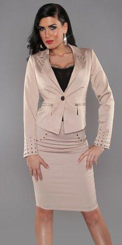 Vybíjané sako pre dámy