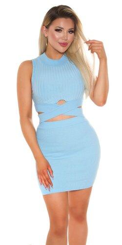 Letný set sukňa a crop top