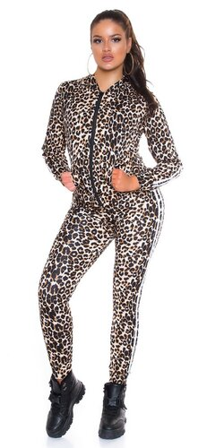 Dvojdielny set s potlačou leopard