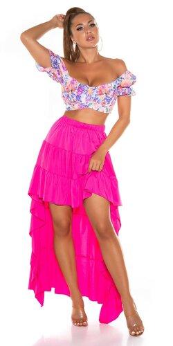 Latina High-Low sukňa