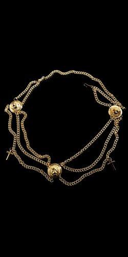 Dámsky zlatý opasok