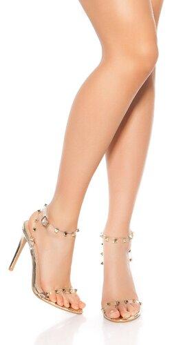 Vybíjané ihličkové sandále
