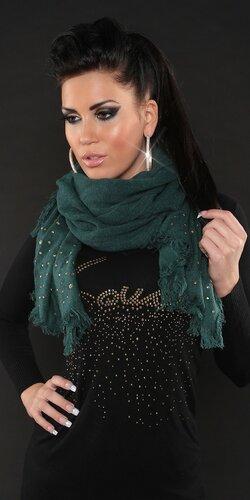 Dámsky šál | Zelená