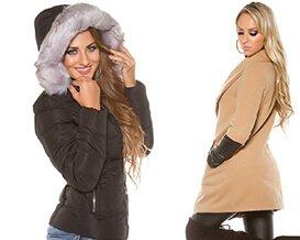 Dámske bundy | Dámske kabáty