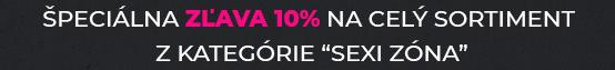 ZĽAVA 10% | KÓD: SEXIZONA10